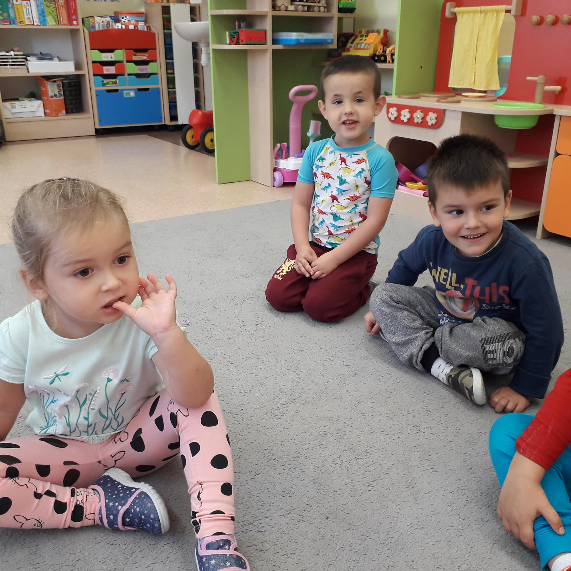 Przedszkolaki rozpoczynają swoje święto