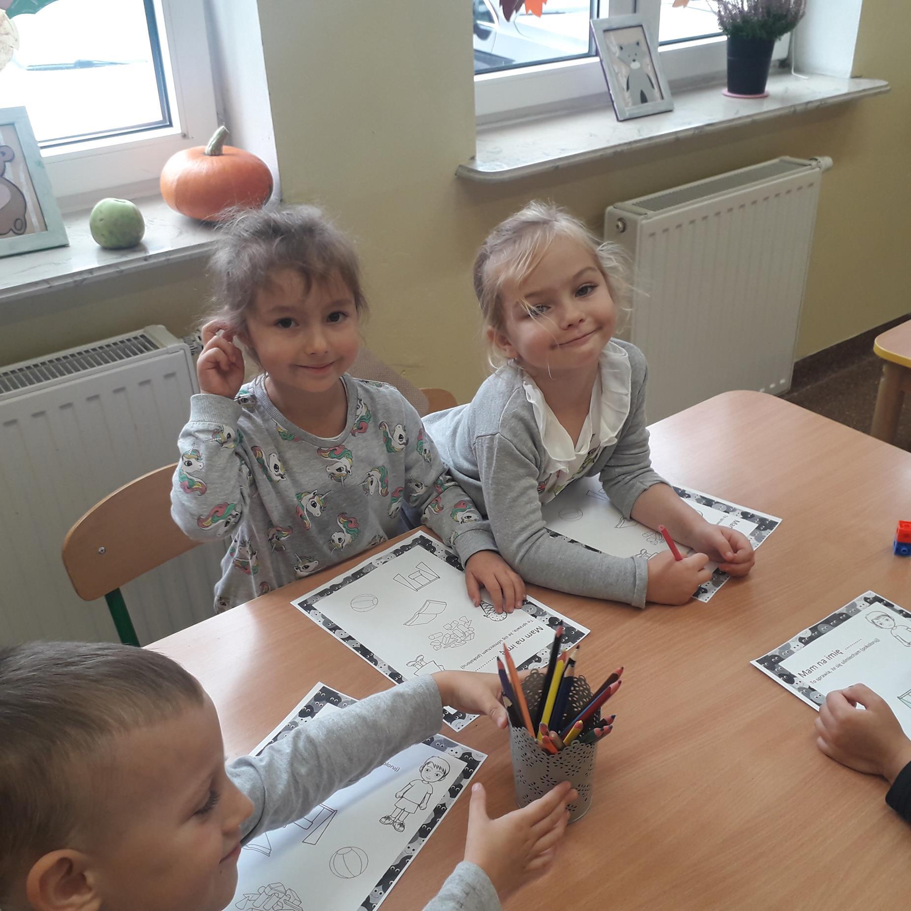 Uśmiechy na twarzach były obecne w przedszkolu przez cały dzień