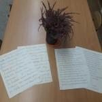 Listy do uczniów niewidomych