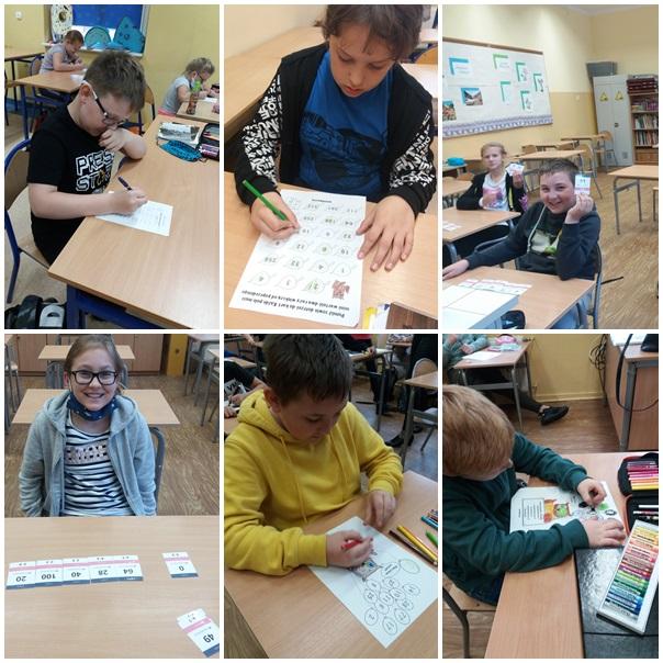 Światowy Dzień Tabliczki Mnożenia. Uczniowie z klas IV-VII rozwiązują rebusy i łamigłówki matematyczne związane z tabliczką mnożenia