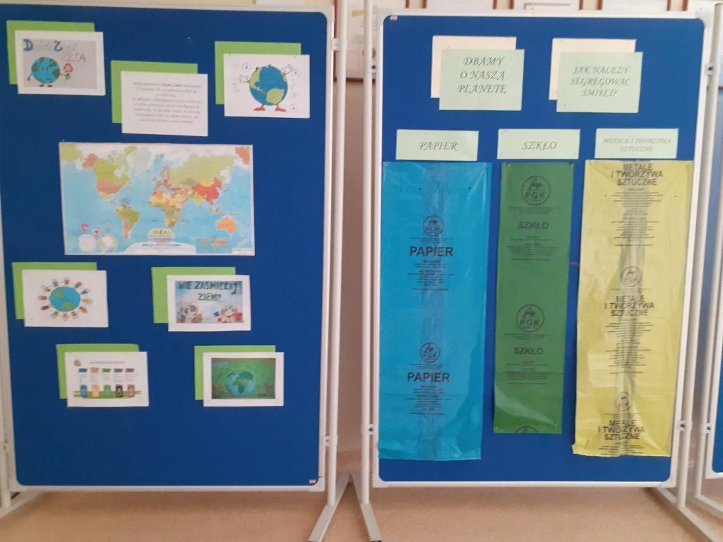 gazetka szkolna przygotowana na dzień Ziemi
